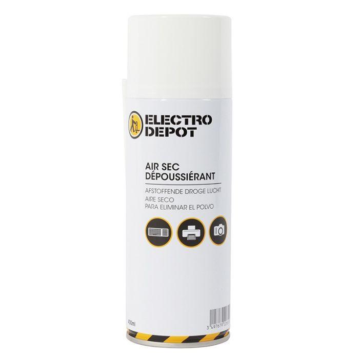 Bombe dépoussièrante Electro dépôt 400 ml avec diffuseur
