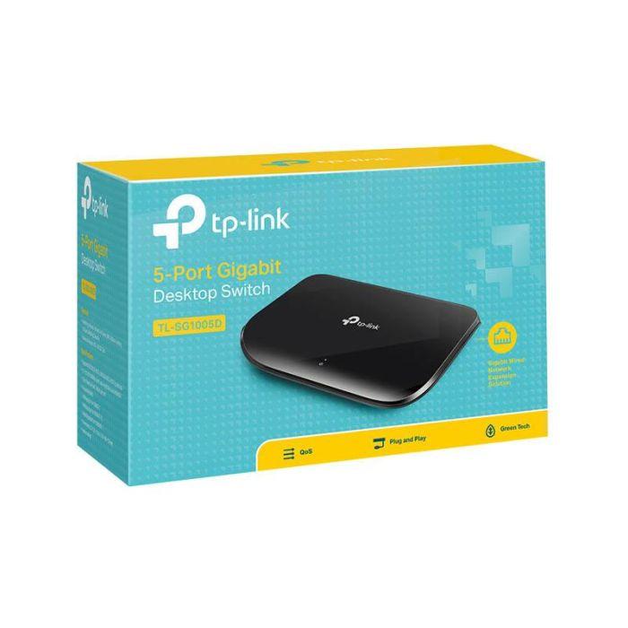 Switch TP-Link TL-SG1005D 5 ports Gigabit