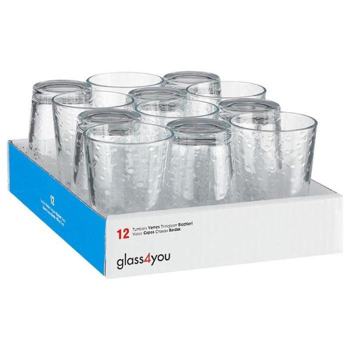 Pack de 12 verres à eau
