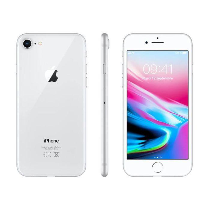 APPLE Iphone 8 64 Go Silver RECONDITIONNÉ GRADE A+