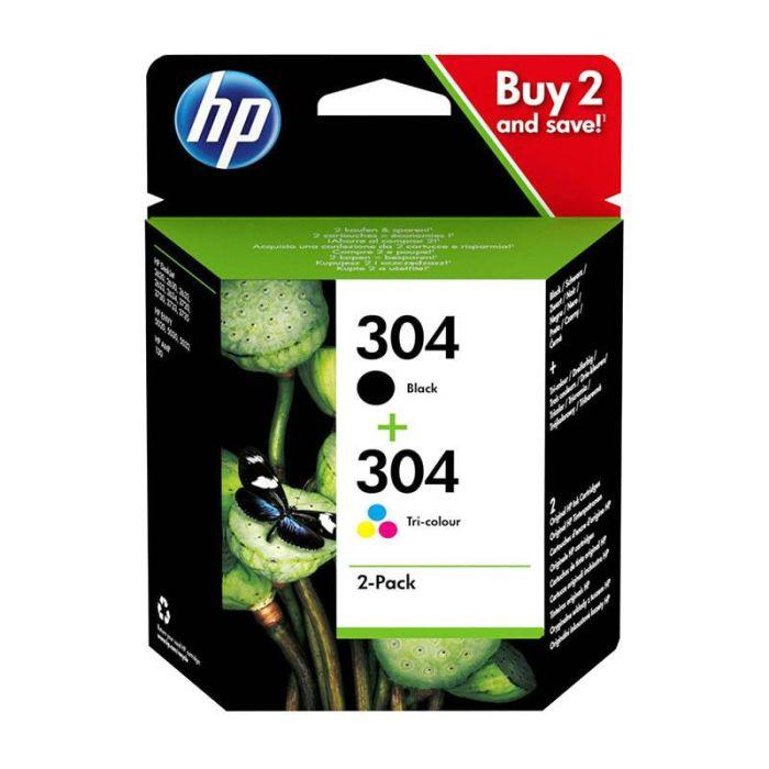 MultiPack HP N°304 BK/CL