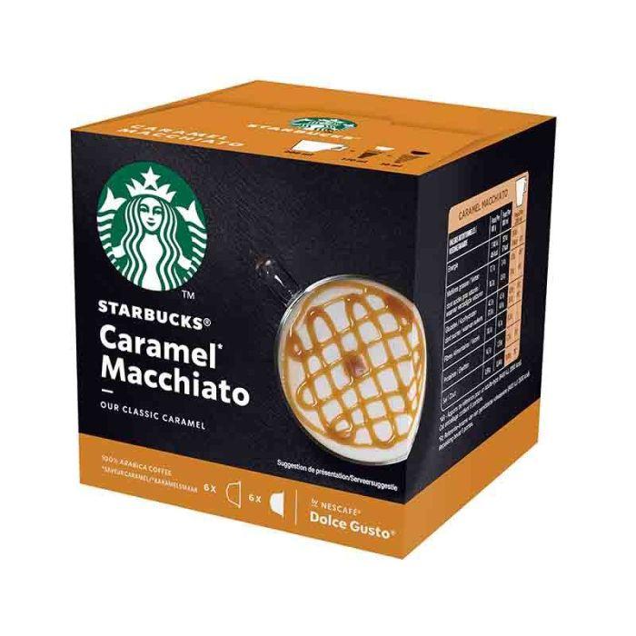 Capsules STARBUCKS® by NESCAFE® Dolce Gusto® Caramel Machiatto x 12