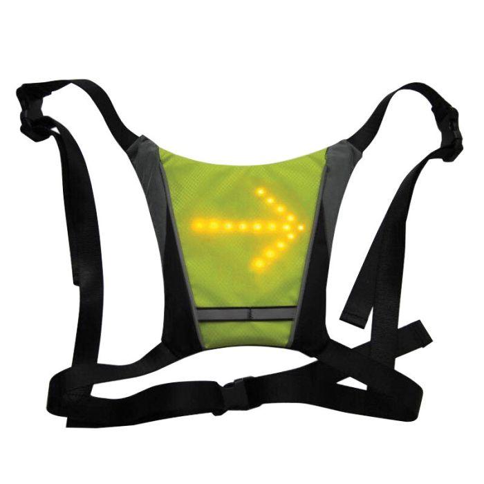 Veste réfléchissante ORNII avec indicateur lumineux LED