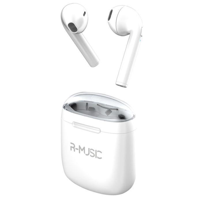 Écouteur Bluetooth R-MUSIC TWS Blanc