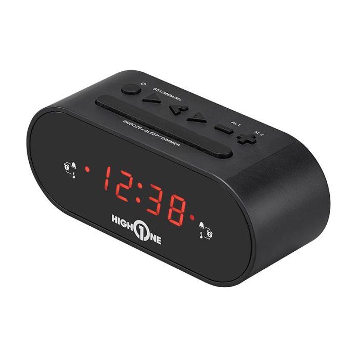 Radio-réveil HIGH ONE CLOCK B1