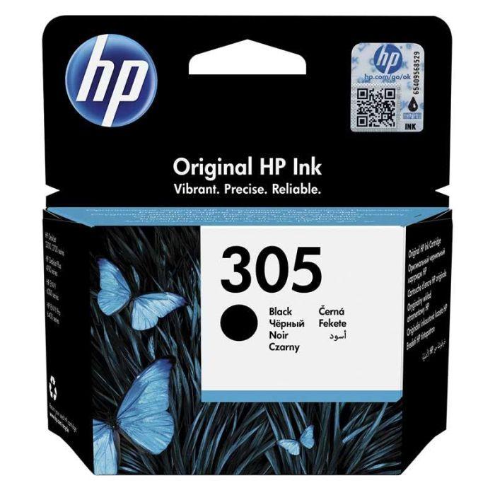 Cartouche d'encre noire HP 305 authentique  (3YM61AE)