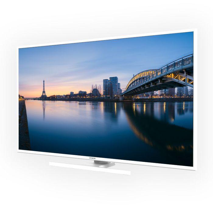 TV UHD 4K HITACHI 43HK6100W SMART BLANC