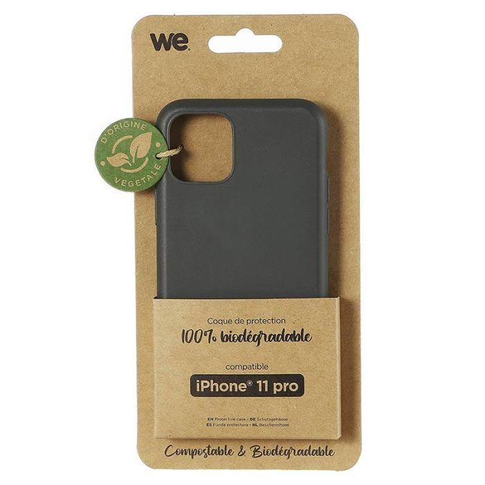 Coque WE iPhone 11 Pro Noir BIODEGRADABLE