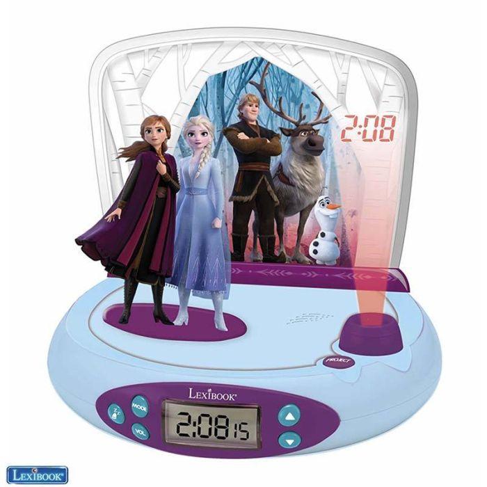Réveil LEXIBOOK Reine des Neiges Anna et Elsa