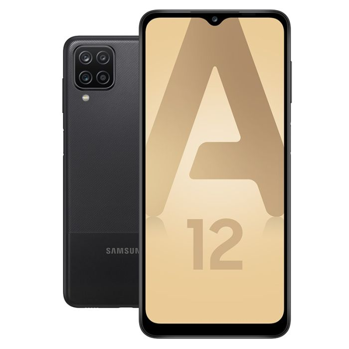 Smartphone SAMSUNG GALAXY A12 64Go Noir