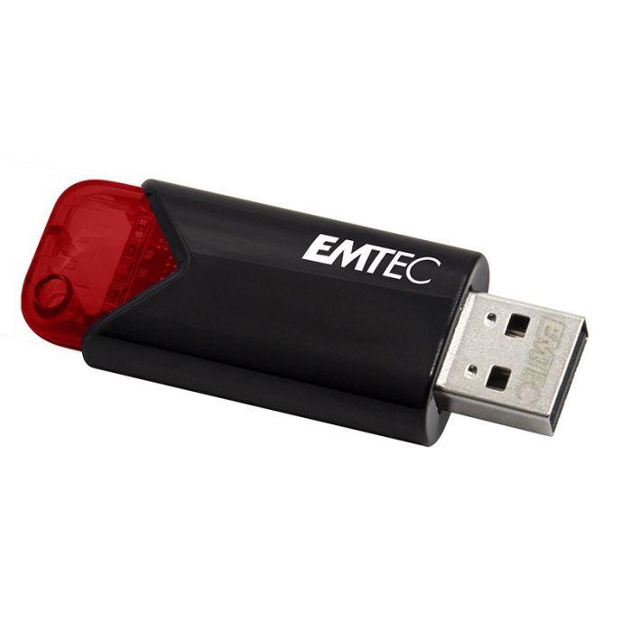 Clé USB EMTEC 256Go B110 USb3.0 ROUGE