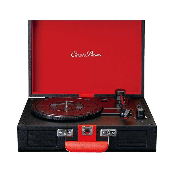 Platine Vinyle LENCO TT110 Noir/Rouge