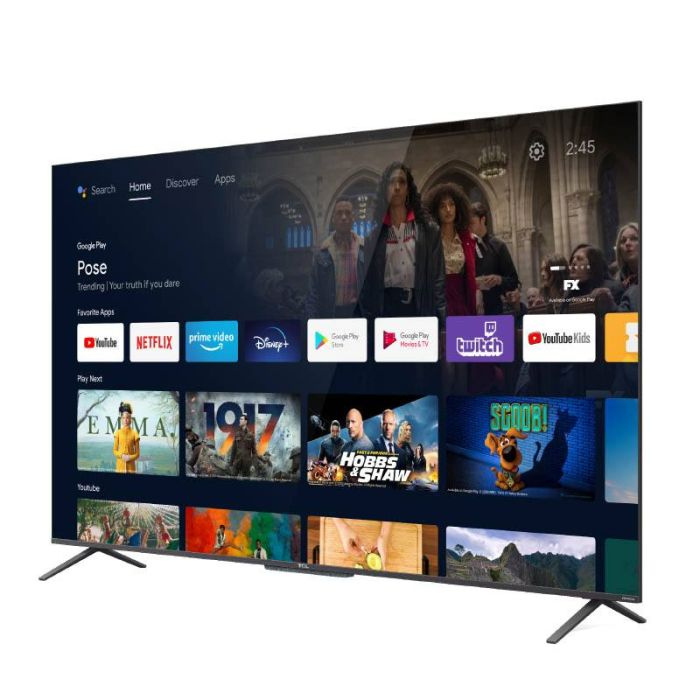 TV QLED TCL 50C722 ANDROID