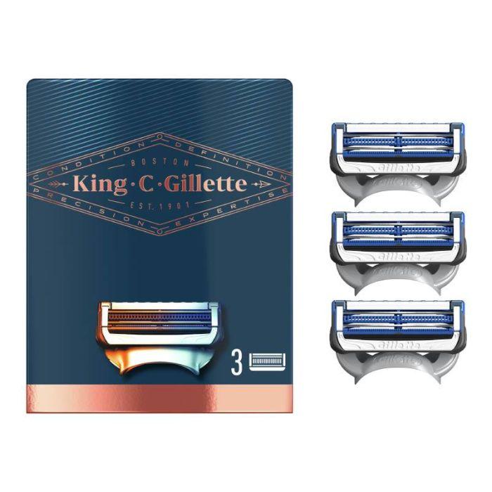 LAMES COU KING C GILLETTE X3