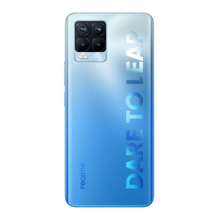 SMARTPHONE PACK REALME 8 PRO 128GO BLEU + ÉCOUTEURS BUDS Q2
