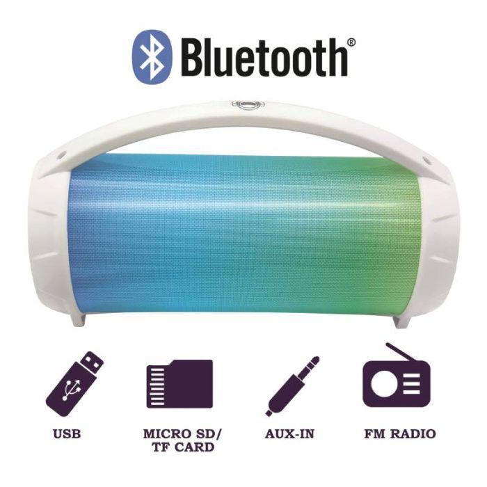 Enceinte Bluetooth I PARTY avec lumières et microphone