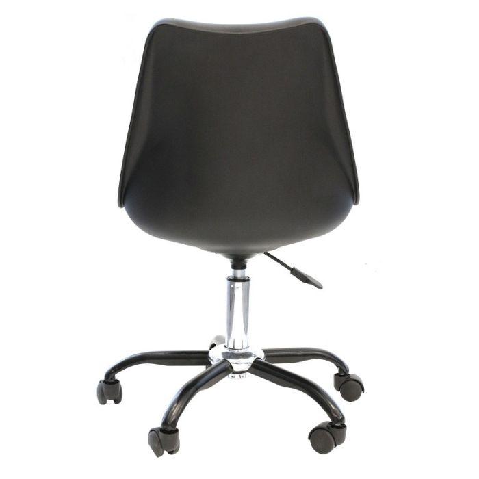 Chaise à roulettes - noir