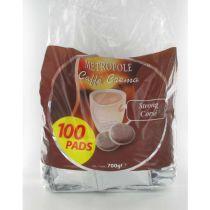 Dosettes de café METROPOLE Corsé x100