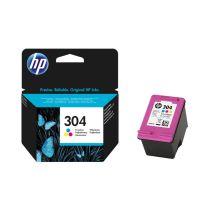 HP 304 Cartouche Trois couleurs (Cyan, Magenta, Jaune) authentique (N9K05AE)