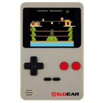 Console Jeux Port G.GEAR + 200 jeux (coloris gris ou rouge aléatoire selon disponibilité)