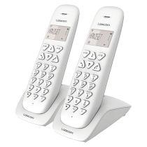 Téléphone duo avec répondeur VEGA255T DUO BLANC