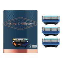 LAMES VISAGE KING C GILLETTE CONTOURS X3