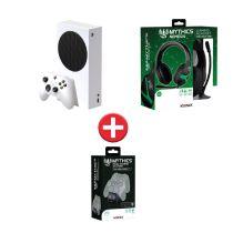 Console XBOX One serie S+Chargeur KONIX+Casque KONIX
