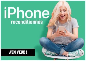 iPhone reconditionnés !