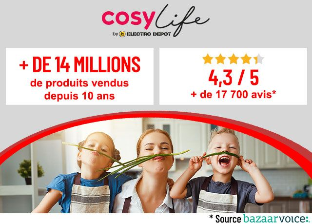 Cosylife by ELECTRO DEPOT