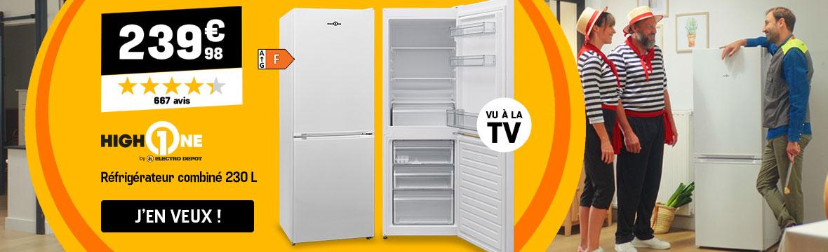 Réfrigérateur combiné High One