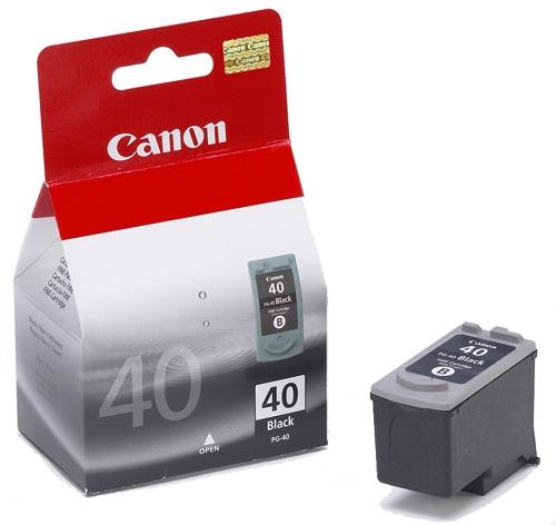 Cartouche Canon pg40 noire
