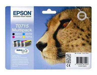 Multipack cartouches EPSON T0715 Guepard (photo)