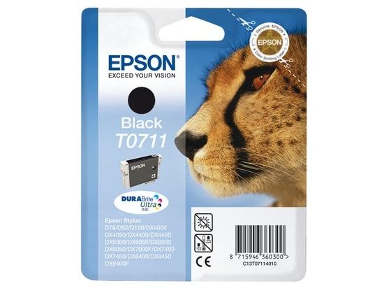Cartouche EPSON T0711 Guepard Noir (photo)