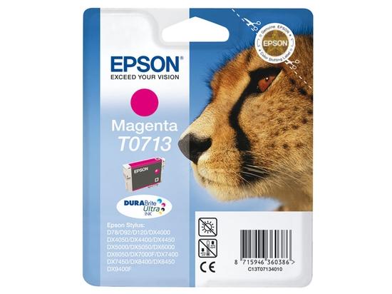 Cartouche EPSON T0713 Guepard Magenta