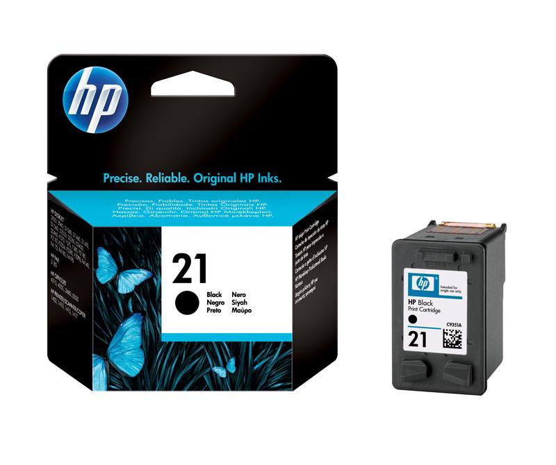 Cartouche HP N°21 Noire 5ML