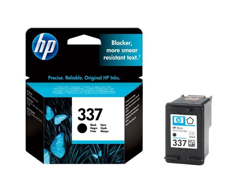 HP 337 Cartouche d'encre Noir authentique (C9364EE)