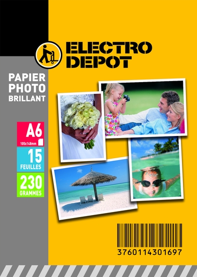 Papier photo ELECTRO DEPOT