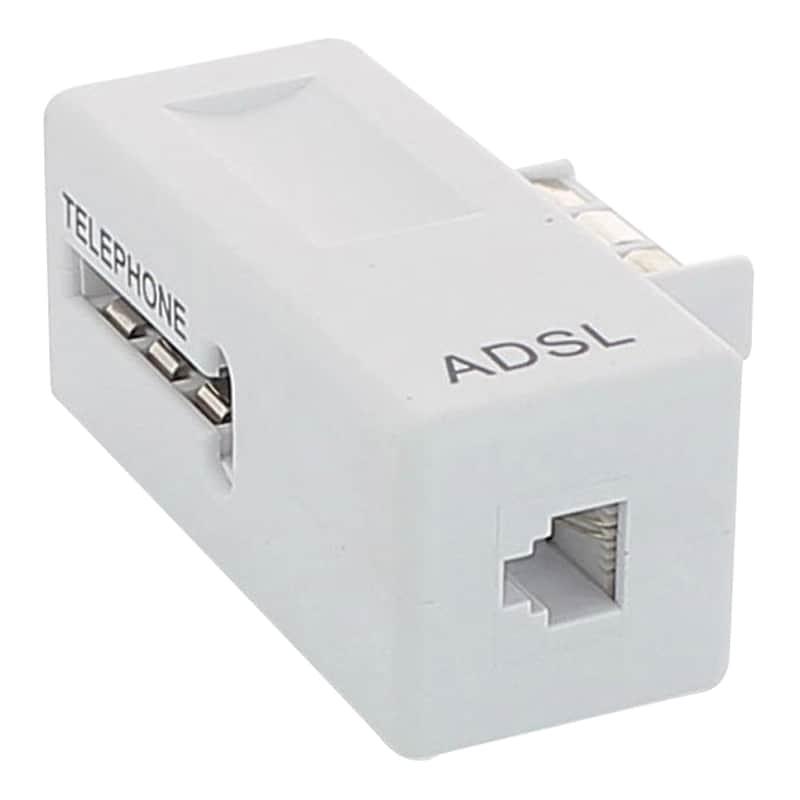Prise ELECTRO DÉPÔT + Filtre ADSL