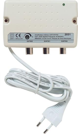 Amplificateur Interieur terrestre 2 sorties