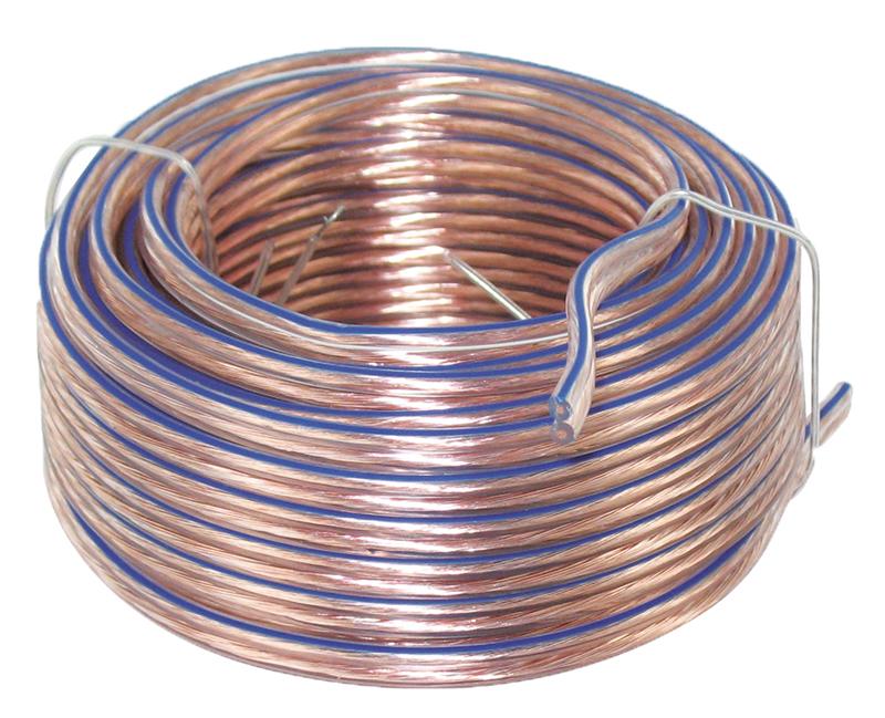 Câble haut parleur 2 x 0,35 - 10 mètres (photo)