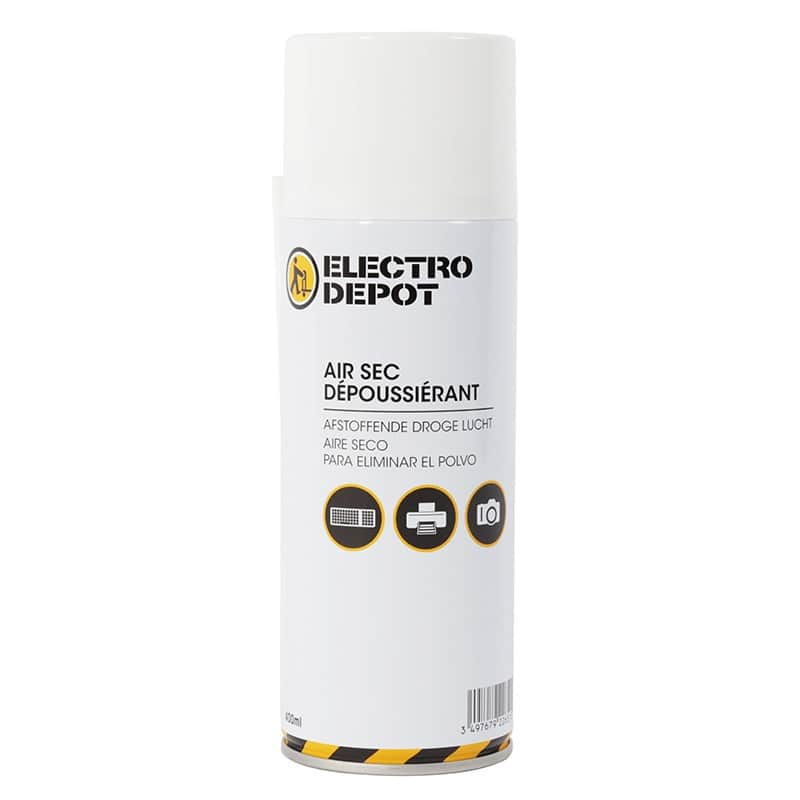 Bombe depoussièrante Electro depot 400 ml avec diffuseur