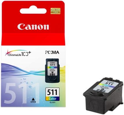 Cartouche CANON CL-511 3 Couleurs (photo)