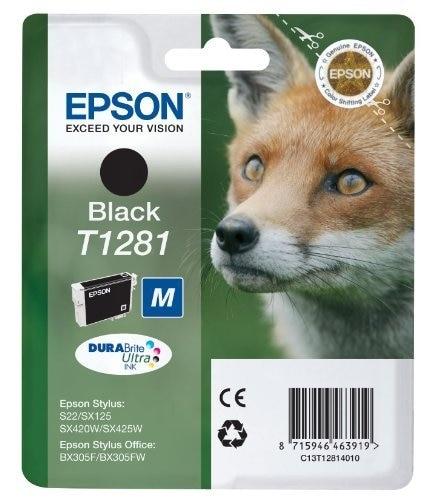 Cartouche EPSON T1281 Renard Noire (photo)