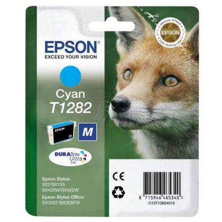Cartouche EPSON T1282 Renard Cyan