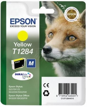Cartouche EPSON T1284 Renard Jaune (photo)