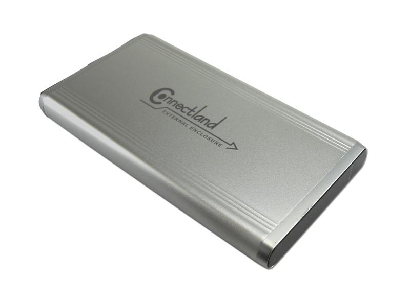 Boîtier CONNECTLAND 2,5 SATA+IDE USB2.0 (photo)