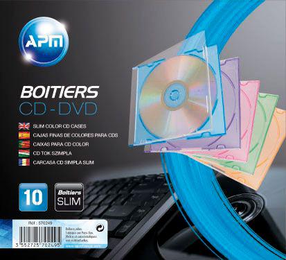 Boitier CD/DVD APM
