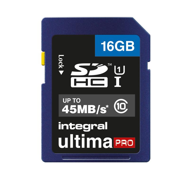Carte SD 16 go INTEGRAL Class 10