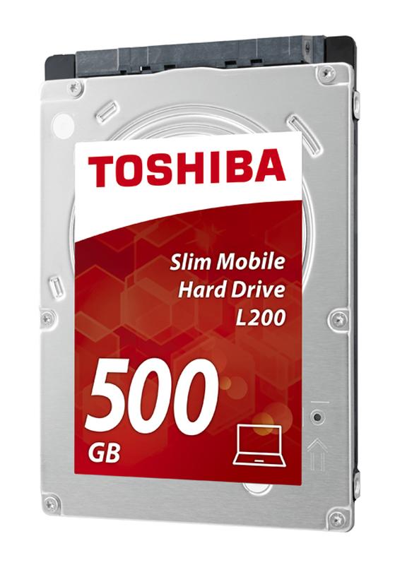 Disque dur interne 2,5 TOSHIBA 500 Go L200 SATA