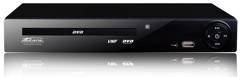 Lecteur DVD TAKARA KDV 99B USB/Peritel